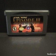 Videojuegos y Consolas: JUEGO GBA ORIGINAL - STAR WARS EPISODE III REVENGE OF THE SITH- NINTENDO JAPAN. Lote 248201025