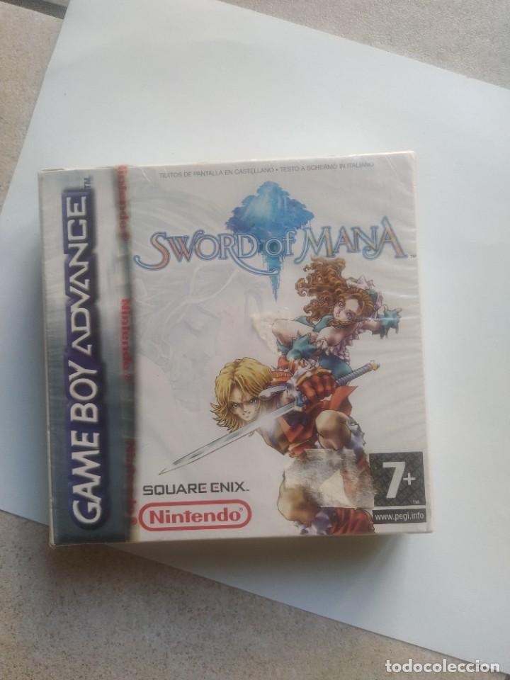 SWORD OF MANA NINTENDO GAMEBOY ADVANCE GBA PRECINTADO PAL-ESPAÑA (Juguetes - Videojuegos y Consolas - Nintendo - GameBoy Advance)