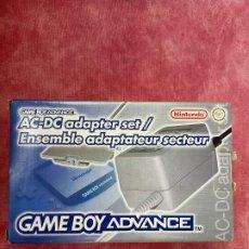 Videojuegos y Consolas: TRANSFORMADOR CARGADOR AC DC ENSEMBLE SET PARA NINTENDO GAMEBOY ADVANCE GBA NUEVO A ESTRENAR ADAPTER. Lote 253811180