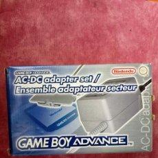 Videojuegos y Consolas: TRANSFORMADOR CARGADOR AC DC ENSEMBLE SET PARA NINTENDO GAMEBOY ADVANCE GBA NUEVO A ESTRENAR ADAPTER. Lote 253811270
