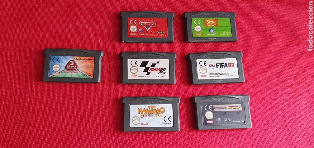 LOTE DE JUEGOS NINTENDO GAME BOY ADVANCE (Juguetes - Videojuegos y Consolas - Nintendo - GameBoy Advance)