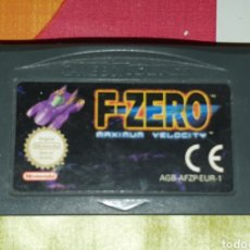 Videojuegos y Consolas: ANTIGUO JUEGO GAME BOY ADVANCE F-ZERO MAXIMUN VELOCITY GAMEBOY. Lote 255489010