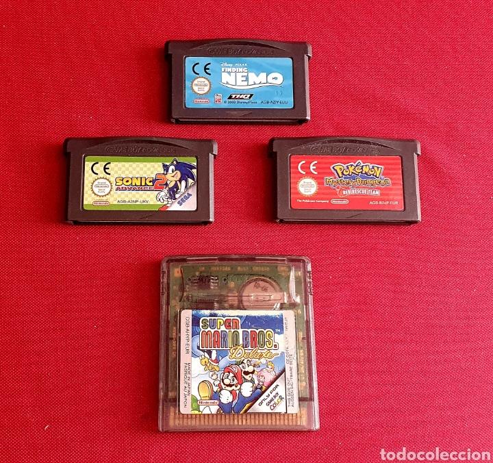 LOTE DE JUEGOS NINTENDO GAME BOY ADVANCE Y COLOR (Juguetes - Videojuegos y Consolas - Nintendo - GameBoy Advance)