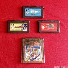 Videojuegos y Consolas: LOTE DE JUEGOS NINTENDO GAME BOY ADVANCE Y COLOR. Lote 255988435