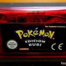 Videojuegos y Consolas: JUEGO CARTUCHO - POKEMON EDICION RUBI - GAME BOY NINTENDO - GAMEBOY ADVANCE. Lote 256082160