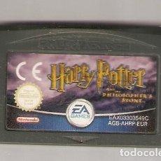 Videojuegos y Consolas: GAME BOY ADVANCE JUEGO HARRY POTTER Y LA PIEDRA FILOSOFAL. Lote 256132735