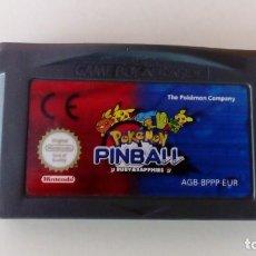 Videojuegos y Consolas: POKEMON PINBALL, GAME BOY ADVANCE. Lote 257477415
