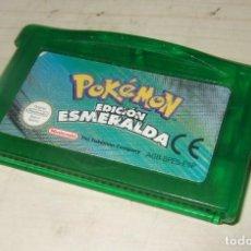 Videojuegos y Consolas: JUEGO POKEMON EDICION ESMERALDA - NINTENDO GAME BOY ADVANCE. Lote 260718150