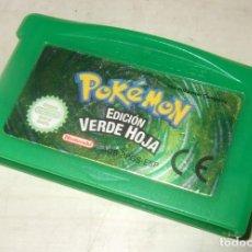 Videojuegos y Consolas: JUEGO POKEMON EDICION VERDE HOJA - NINTENDO GAME BOY ADVANCE. Lote 260718370