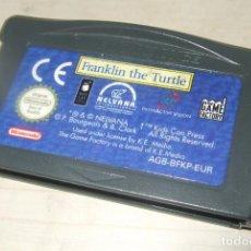 Videojuegos y Consolas: JUEGO FRANKLIN THE TURTLE - NINTENDO GAME BOY ADVANCE. Lote 260718575