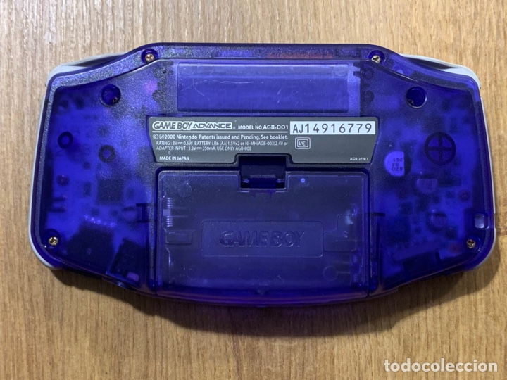 Videojuegos y Consolas: Gameboy Advance Midnight Blue - Foto 2 - 260726745