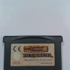 Videojuegos y Consolas: EYE OF THE BEHOLDER. DUNGEONS & DRAGONS. NINTENDO GAMEBOY ADVANCE. Lote 261788305