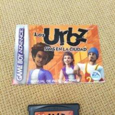 Videojuegos y Consolas: JUEGO GAME BOY ADVANCE LOS URBZ. Lote 262404250