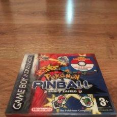 Videojuegos y Consolas: POKEMON PINBALL PRECINTADO. Lote 263038530