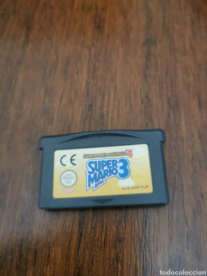 JUEGO GAME BOY ADVANCE SUPERMARIO ADVANCED 4 Y SUPER MARIO 3 (Juguetes - Videojuegos y Consolas - Nintendo - GameBoy Advance)
