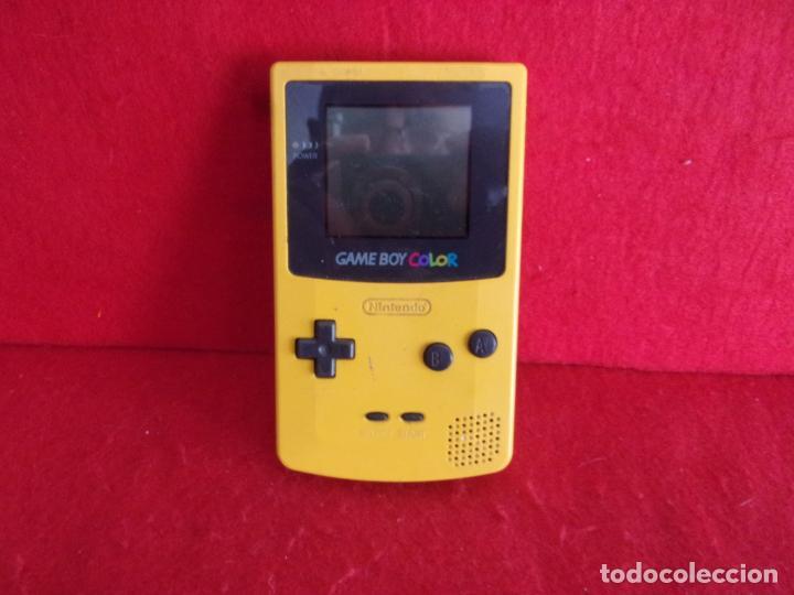 CONSOLA NINTENDO,GAME BOY A COLOR,FUNCIONA HAY FOTO DE VISTAS (Juguetes - Videojuegos y Consolas - Nintendo - GameBoy Advance)