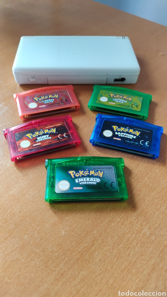 NINTENDO DS LITE + POKÉMON GBA ESPAÑOL (Juguetes - Videojuegos y Consolas - Nintendo - GameBoy Advance)