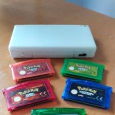 Videojuegos y Consolas: NINTENDO DS LITE + POKÉMON GBA ESPAÑOL. Lote 263698600