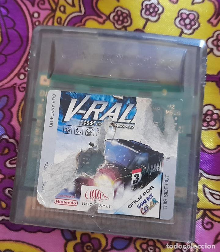 Videojuegos y Consolas: CONSOLA ADVANCE GAME BOY SP CON JUEGO V-RALLY CONSOLA NINTENDO COLOR NEGRO - Foto 6 - 263711135