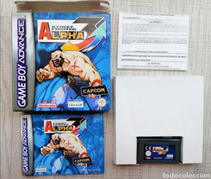 JUEGO STREET FIGHTER ALPHA 3 GAME BOY ADVANCE. VERSIÓN ESPAÑOLA. COMPLETO Y MUY RARO EN ESTE ESTADO (Juguetes - Videojuegos y Consolas - Nintendo - GameBoy Advance)