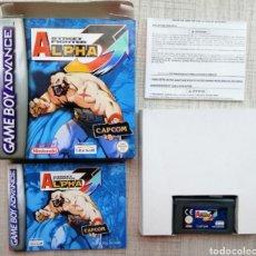 Videojuegos y Consolas: JUEGO STREET FIGHTER ALPHA 3 GAME BOY ADVANCE. VERSIÓN ESPAÑOLA. COMPLETO Y MUY RARO EN ESTE ESTADO. Lote 268040084