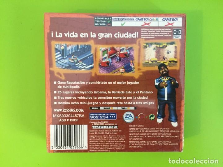 Videojuegos y Consolas: NINTENDO GAME BOY ADVANCE GBA LOS URBZ SIMS EN LA CIUDAD. PRECINTADO - Foto 2 - 268261709