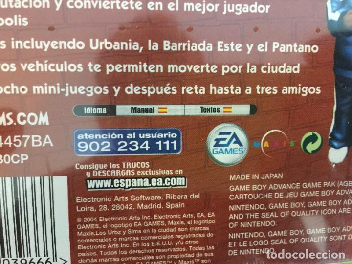 Videojuegos y Consolas: NINTENDO GAME BOY ADVANCE GBA LOS URBZ SIMS EN LA CIUDAD. PRECINTADO - Foto 3 - 268261709