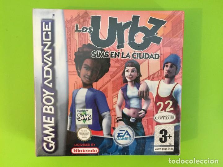 NINTENDO GAME BOY ADVANCE GBA LOS URBZ SIMS EN LA CIUDAD. PRECINTADO (Juguetes - Videojuegos y Consolas - Nintendo - GameBoy Advance)