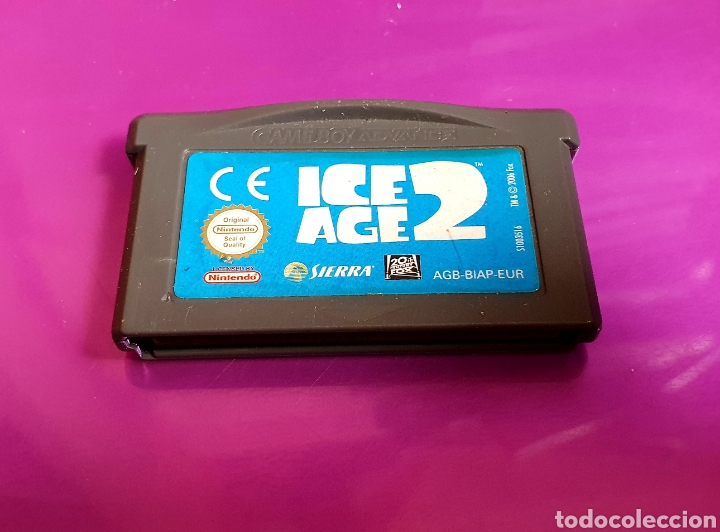 NINTENDO GAME BOY ADVANCE ICE AGE 2 GAMEBOY (Juguetes - Videojuegos y Consolas - Nintendo - GameBoy Advance)