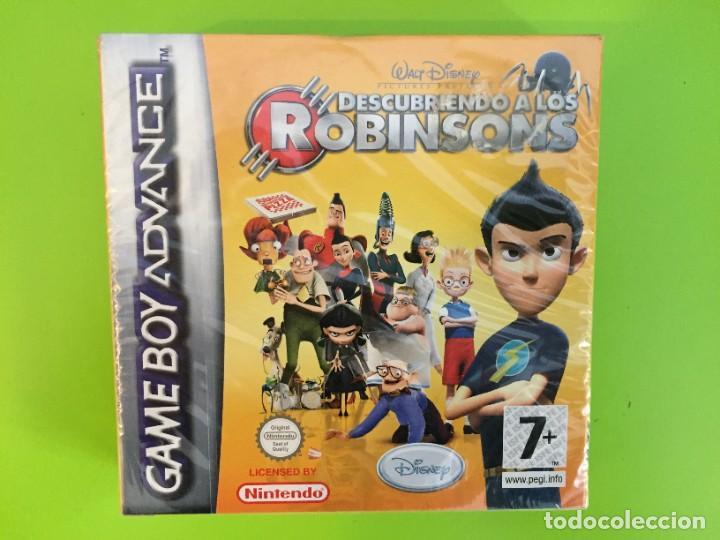 NINTENDO GAME BOY ADVANCE GBA DISNEY DESCUBRIENDO A LOS ROBINSONS. PRECINTADO (Juguetes - Videojuegos y Consolas - Nintendo - GameBoy Advance)