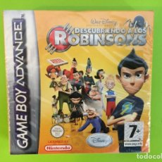 Videojuegos y Consolas: NINTENDO GAME BOY ADVANCE GBA DISNEY DESCUBRIENDO A LOS ROBINSONS. PRECINTADO. Lote 268426569
