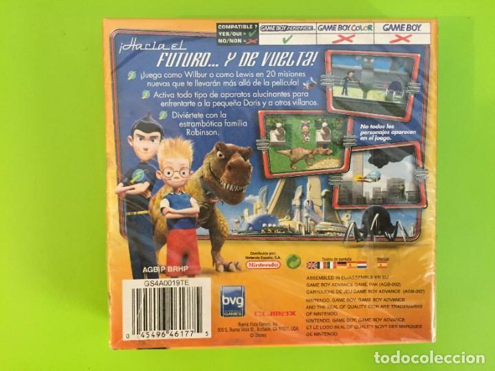 Videojuegos y Consolas: NINTENDO GAME BOY ADVANCE GBA DISNEY DESCUBRIENDO A LOS ROBINSONS. PRECINTADO - Foto 2 - 268426569