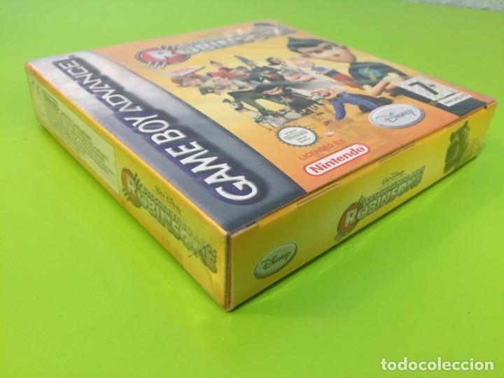 Videojuegos y Consolas: NINTENDO GAME BOY ADVANCE GBA DISNEY DESCUBRIENDO A LOS ROBINSONS. PRECINTADO - Foto 4 - 268426569