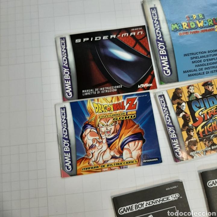 Videojuegos y Consolas: Instrucciones de varios juegos y manual GAME BOY ADVANCE - Foto 2 - 268586774
