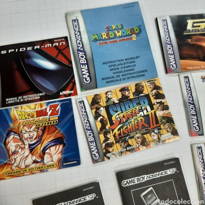 Videojuegos y Consolas: Instrucciones de varios juegos y manual GAME BOY ADVANCE - Foto 3 - 268586774