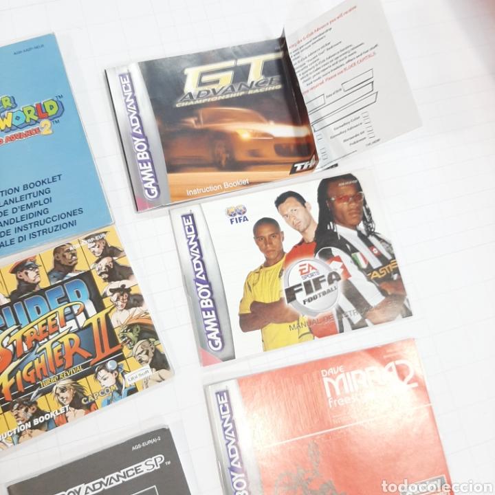 Videojuegos y Consolas: Instrucciones de varios juegos y manual GAME BOY ADVANCE - Foto 5 - 268586774