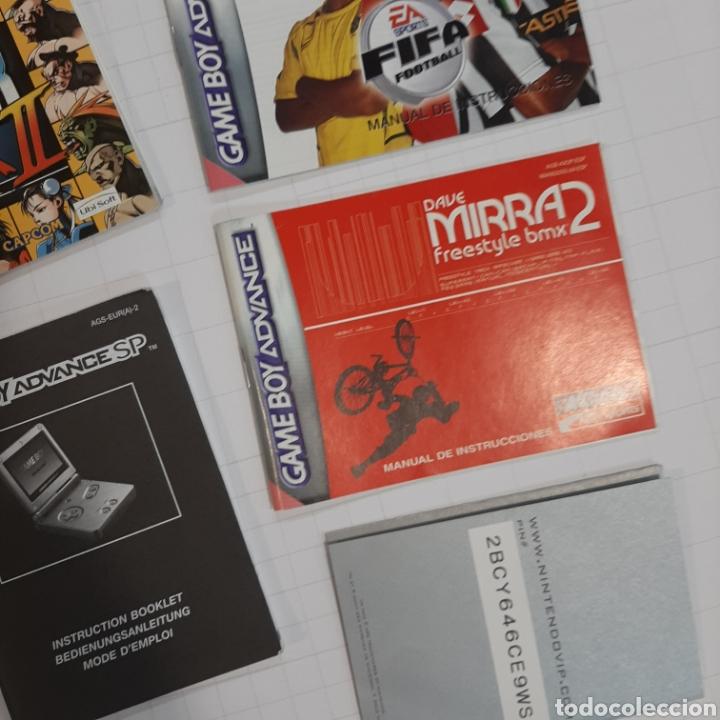 Videojuegos y Consolas: Instrucciones de varios juegos y manual GAME BOY ADVANCE - Foto 6 - 268586774