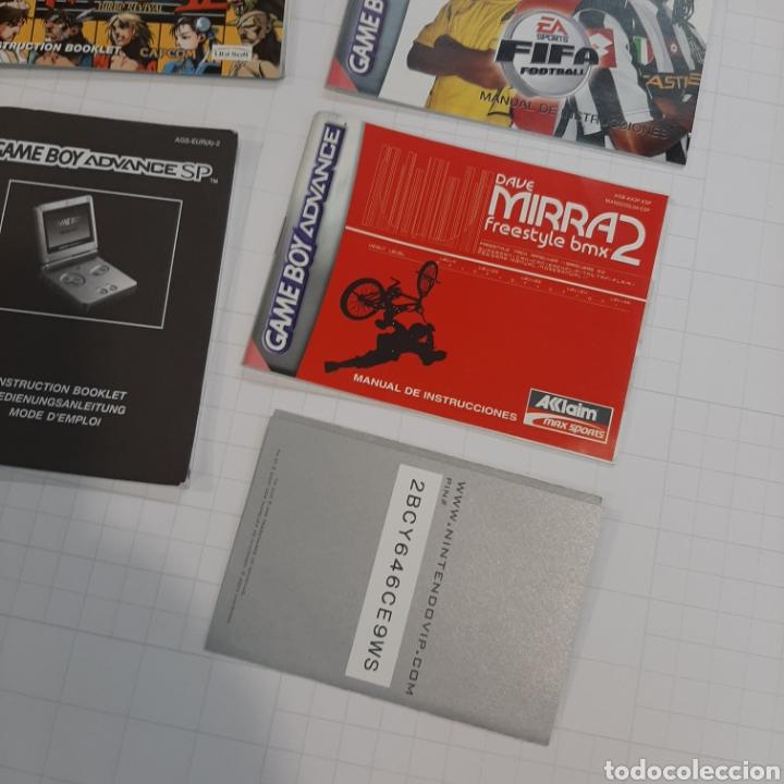 Videojuegos y Consolas: Instrucciones de varios juegos y manual GAME BOY ADVANCE - Foto 7 - 268586774