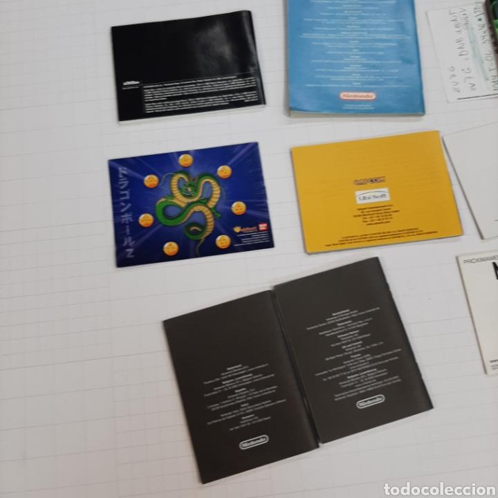 Videojuegos y Consolas: Instrucciones de varios juegos y manual GAME BOY ADVANCE - Foto 9 - 268586774