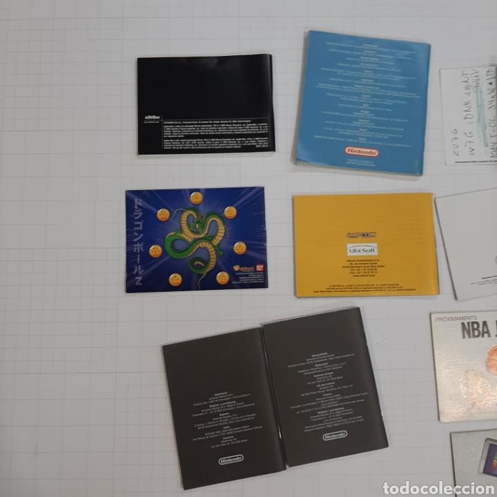 Videojuegos y Consolas: Instrucciones de varios juegos y manual GAME BOY ADVANCE - Foto 10 - 268586774