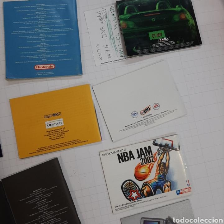 Videojuegos y Consolas: Instrucciones de varios juegos y manual GAME BOY ADVANCE - Foto 11 - 268586774