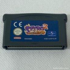 Videojuegos y Consolas: VIDEOJUEGO NINTENDO GAME BOY ADVANCE - SPYRO 2 SEASON FLAME - EUR. Lote 269124603