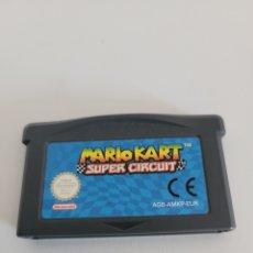 Videojuegos y Consolas: MARIO KART GBA SUPER CIRCUIT ADVANCE NINTENDO. Lote 269163153