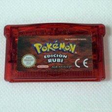 Videojuegos y Consolas: VIDEOJUEGO NINTENDO GAME BOY ADVANCE - POKÉMON EDICIÓN RUBÍ - ESP. Lote 269373618