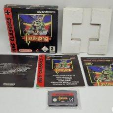 Videojuegos y Consolas: GAME BOY ADVANCE CASTLEVANIA NES CLASSICS. 2005. VERSION ESPAÑOLA. COMPLETO. NINTENDO.. Lote 269391913