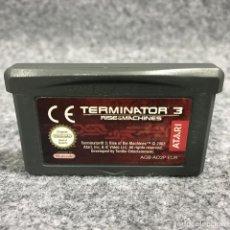 Videojuegos y Consolas: TERMINATOR 3 RISE OF THE MACHINES NINTENDO GAME BOY ADVANCE GBA. Lote 269685733