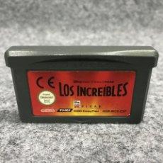 Videojuegos y Consolas: LOS INCREIBLES NINTENDO GAME BOY ADVANCE GBA. Lote 269685763