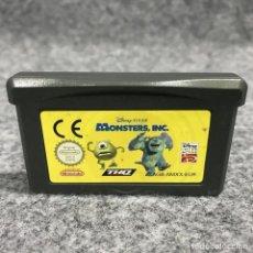 Videojuegos y Consolas: MONSTERS INC NINTENDO GAME BOY ADVANCE GBA. Lote 269685798