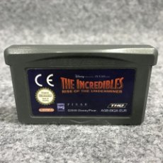 Videojogos e Consolas: THE INCREDIBLES RISE OF THE UNDERMINER NINTENDO GAME BOY ADVANCE GBA. Lote 269685838