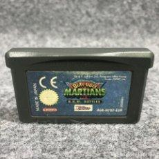 Videojuegos y Consolas: BUTT UGLY MARTIANS BKM BATTLES NINTENDO GAME BOY ADVANCE GBA. Lote 269685853